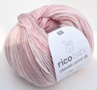 Rico baby classic print dk shade 001 pink mix